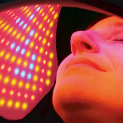 LED phototherapy - red light for pigmentation treatment