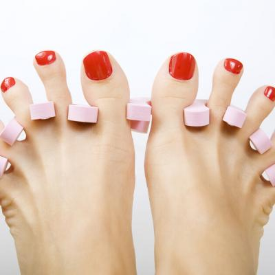 Pedicure with Gelish