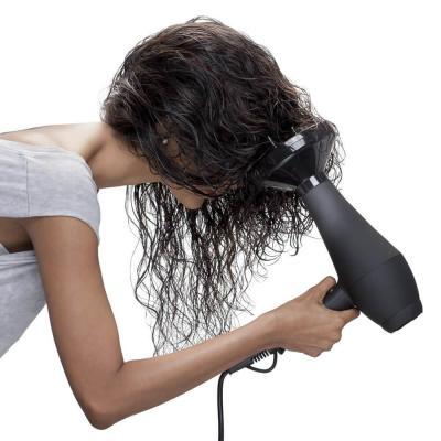 Объем волос с дифузором
